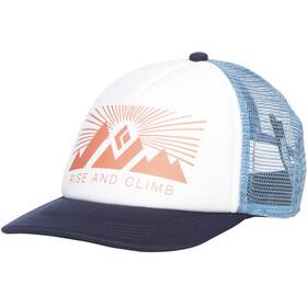Black Diamond Trucker Hat Hoofdbedekking blauw/wit
